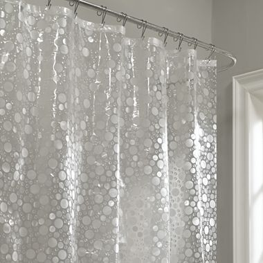 Fun Bubbles Vinyl Shower Curtain Jcpenney For The Home