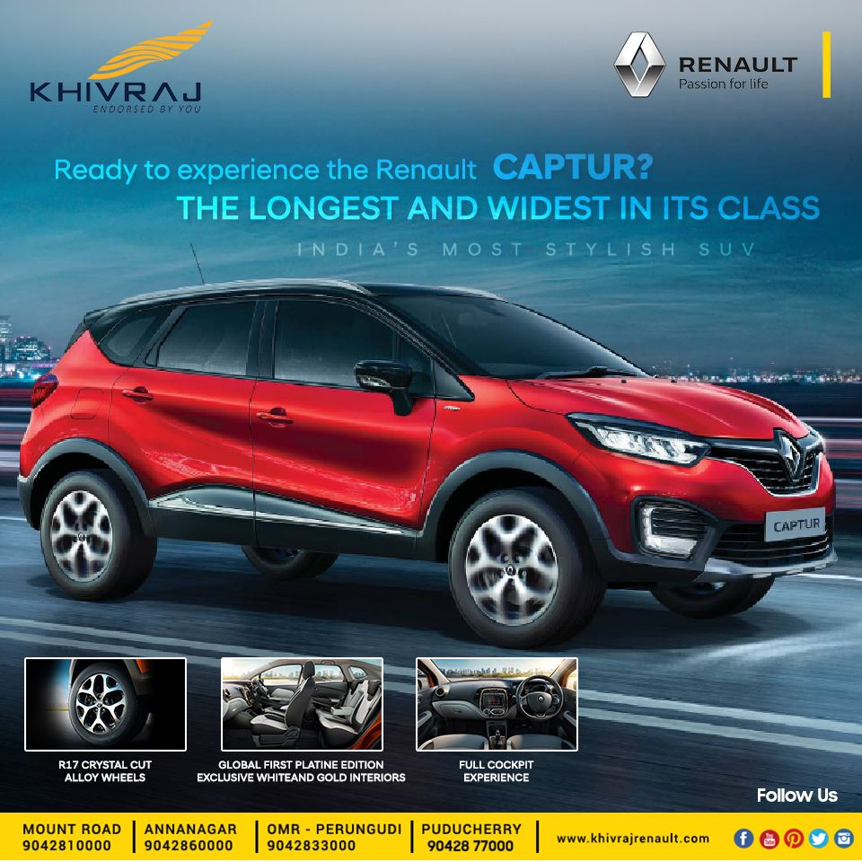Is An Authorized Renault Dealers In Chennai Puducherry Carros