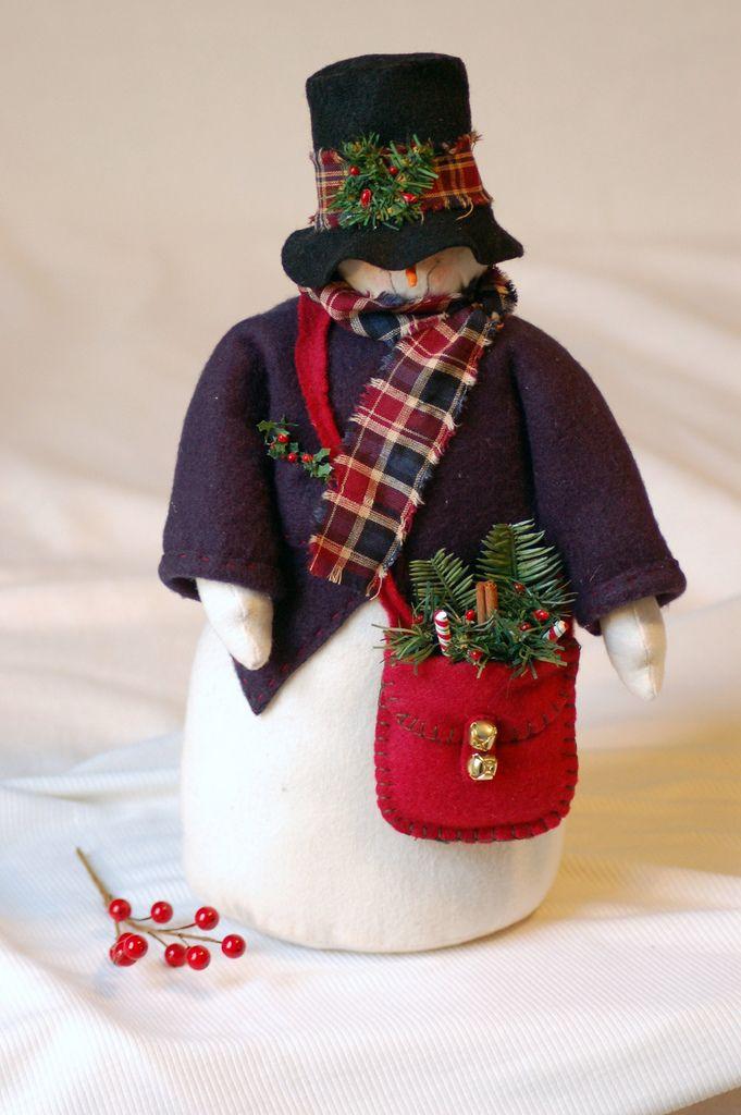 handmade snowman   Flickr - Photo Sharing!