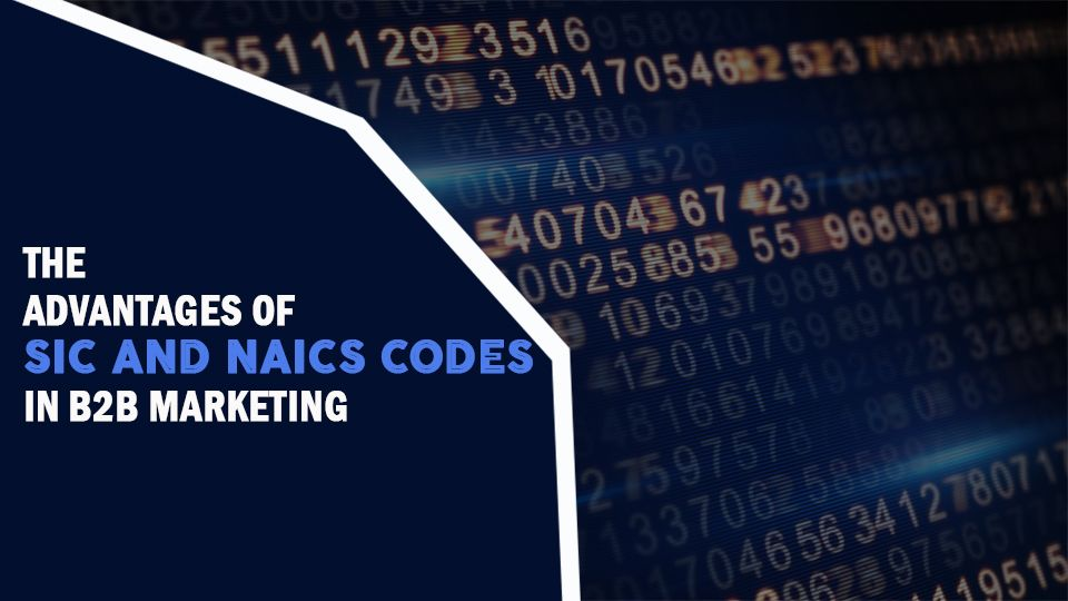 The Advantages Of Sic And Naic Codes In B2b Marketing B2b Marketing Marketing Approach