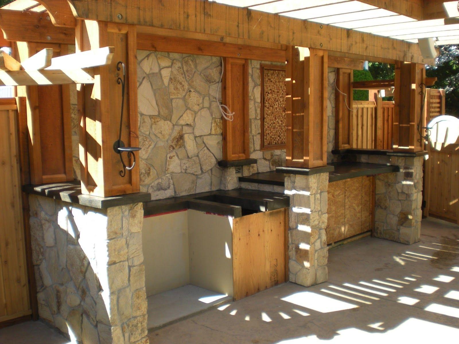 Outdoor kitchen benchtop ideas latulufofeed