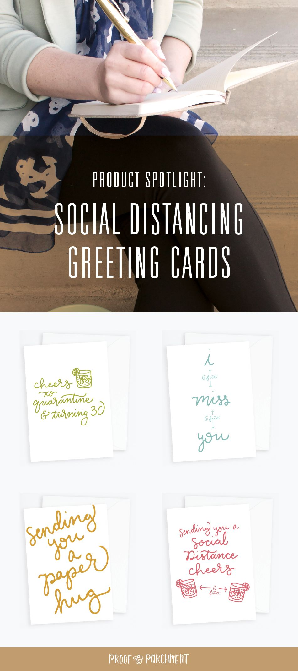 Product Spotlight Social Distancing Cards Proof