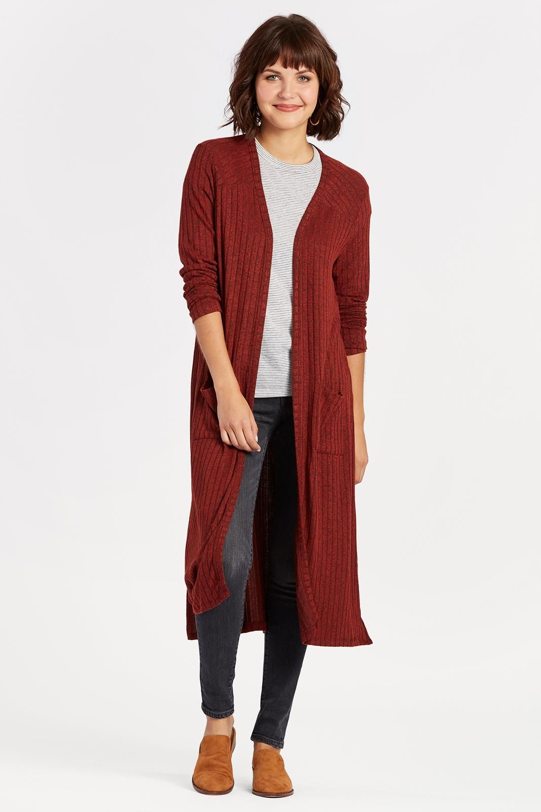 BRAEVE Ribbed Duster Cardigan | Dusters, Fashion fall and Fall winter