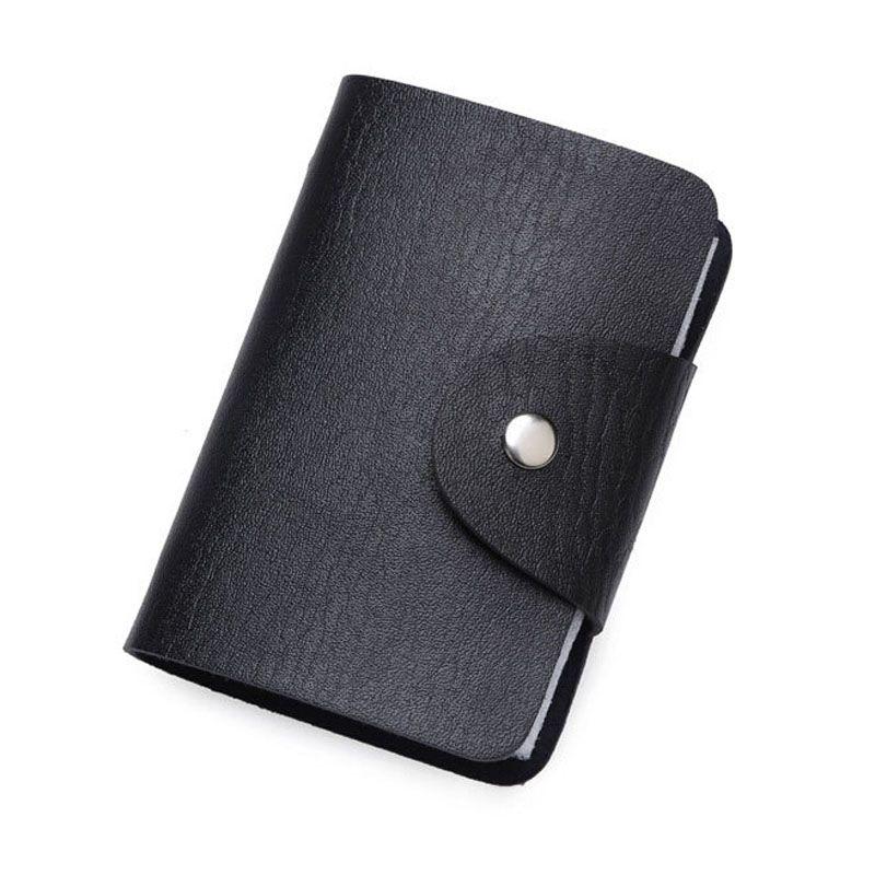 100% New women business card holder Fashion style men card wallet ...