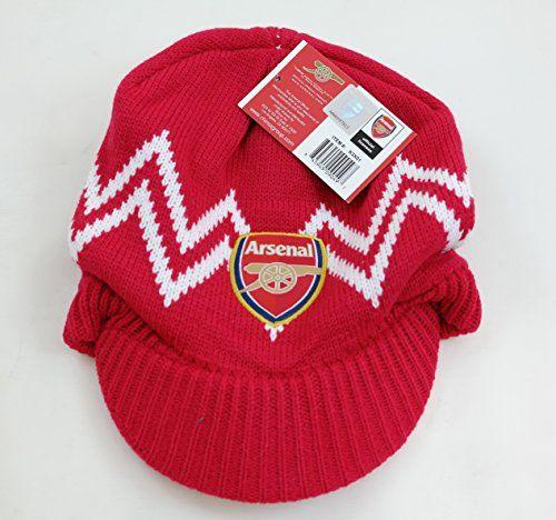 935a096361676 Bobble Hats - Arsenal FC Woolly Ski Hat - Football Club Winter Hats for Men   FineGifts  BobbleSkiHatFootballClubArsenal…
