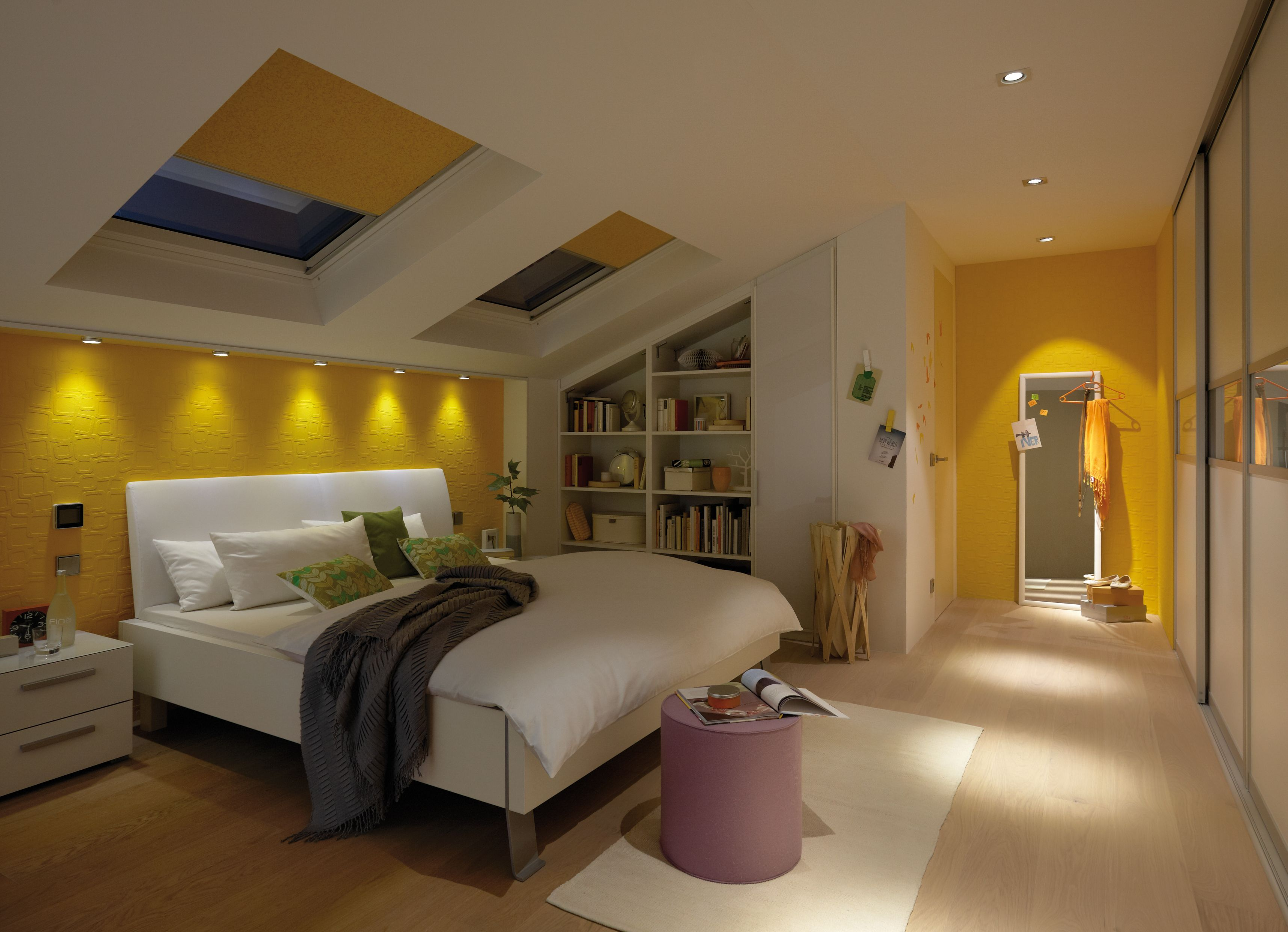 Beleuchtungsideen fürs Schlafzimmer (mit Bildern)  Schlafzimmer