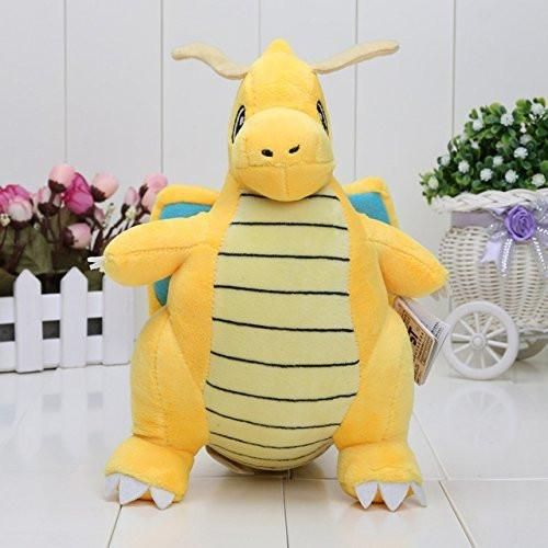 Pokemon Pikachu Dragonite Plush Soft Toy Stuffed Animal Gift Figure ...