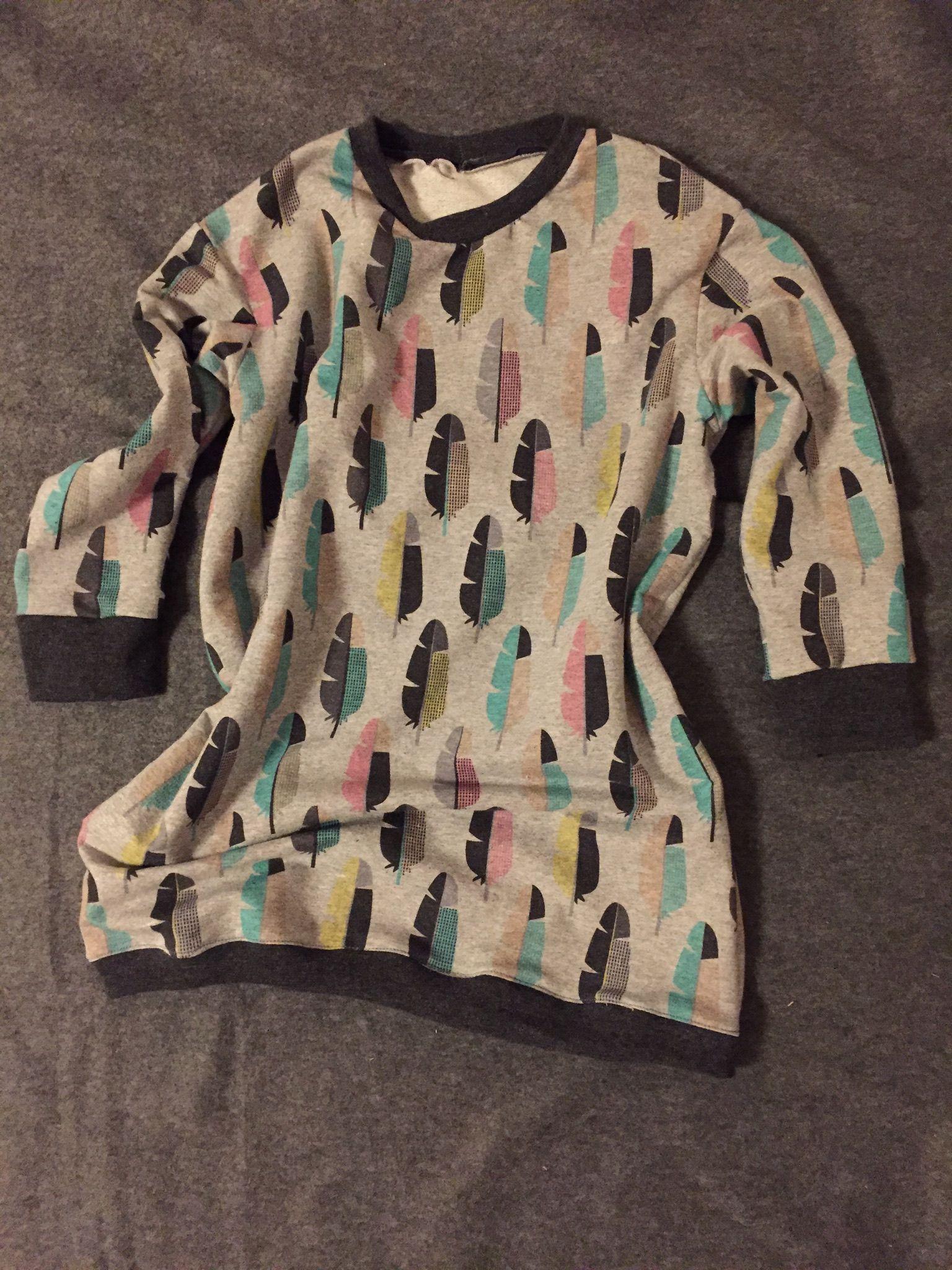 Maxi size Shirt selbstgenäht SM Ottobre