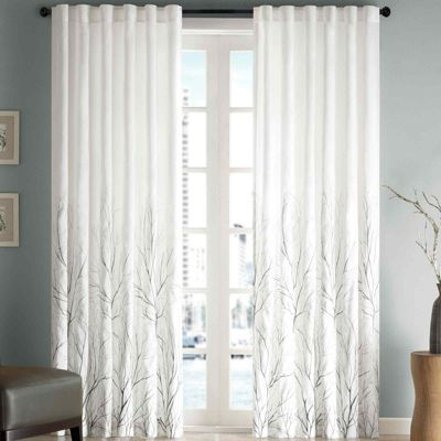 Eliza Rod Pocket Curtain Panel Jcpenney Living Room