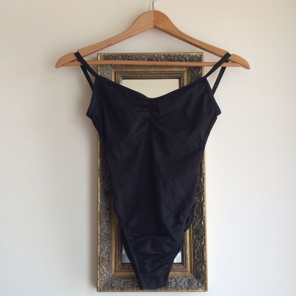 Black leotard Motion Wear black leotard. Adult small. Excellent condition. Make an offer and I'll try my best to work with you (no trades please)  Motion Wear Other