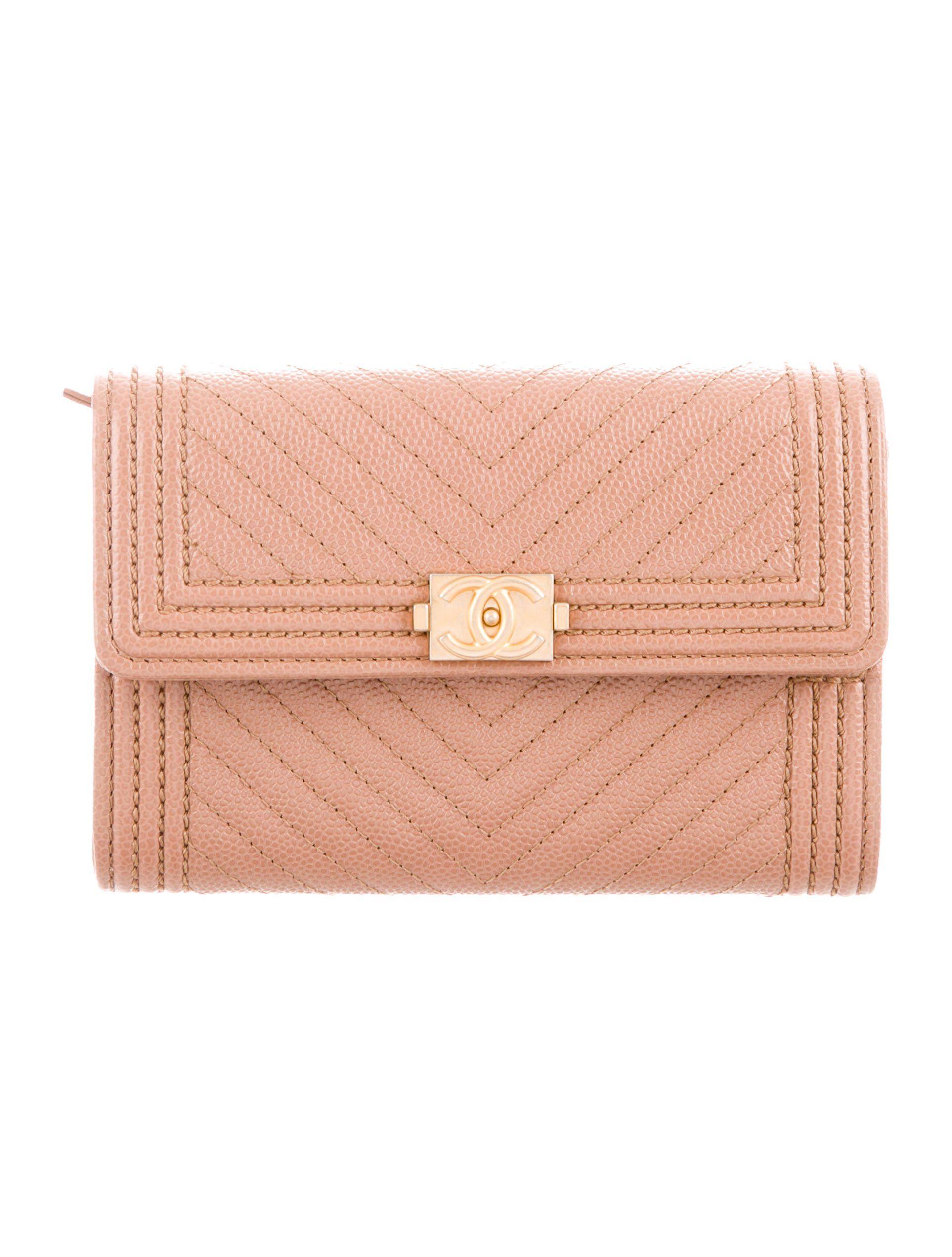 chanel card wallet flap