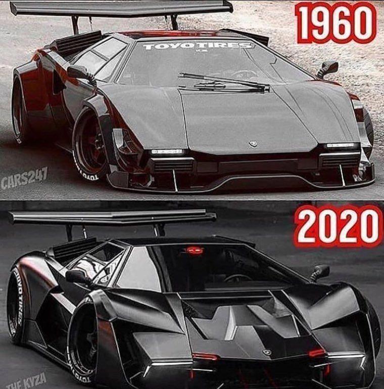 Old Or New Lamborghini #Lamborghini #Automotive