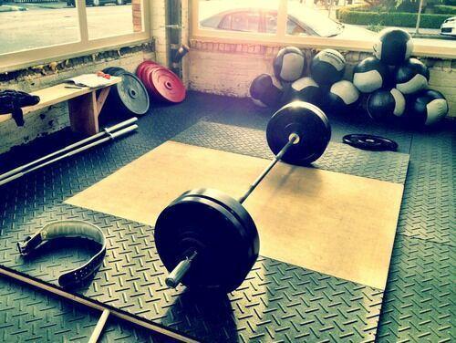 18 tumblr phys. stuff garage gym morning workout motivation