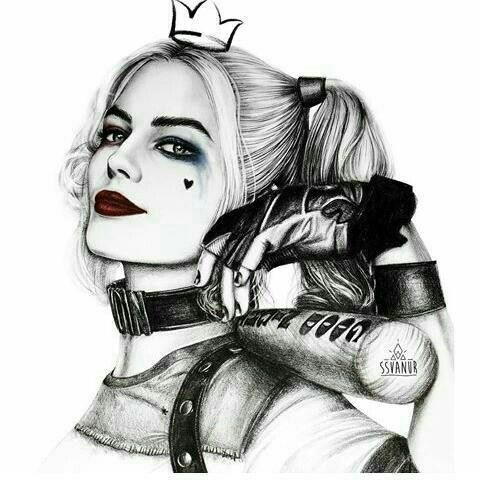 Harley quimm   - Zeichnungen - #Harley #quimm #Zeichnungen