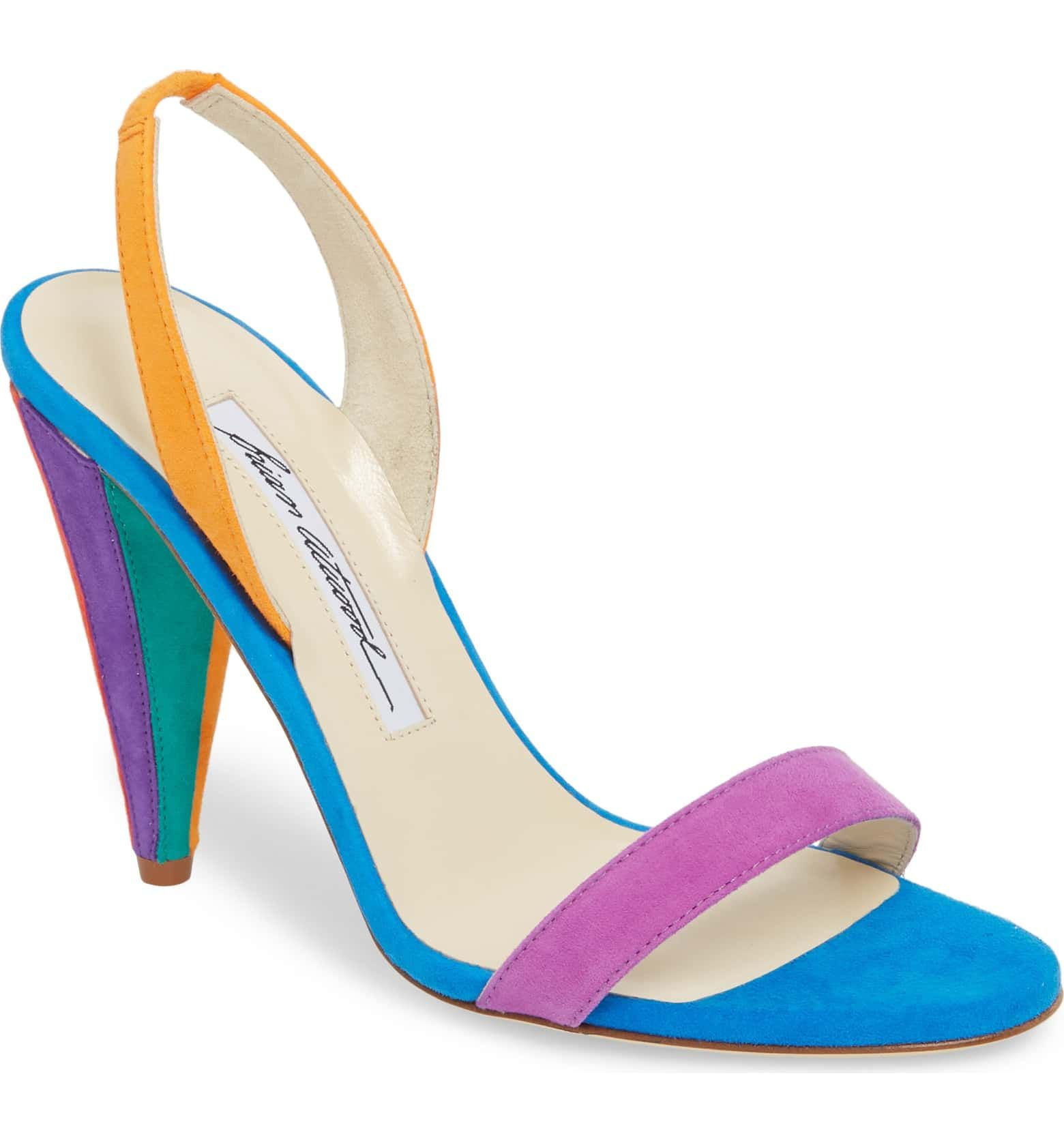 a965d4f5865 Susii Cone Heel Sandal, Main, color, Multi Color | Shoes | Heels ...