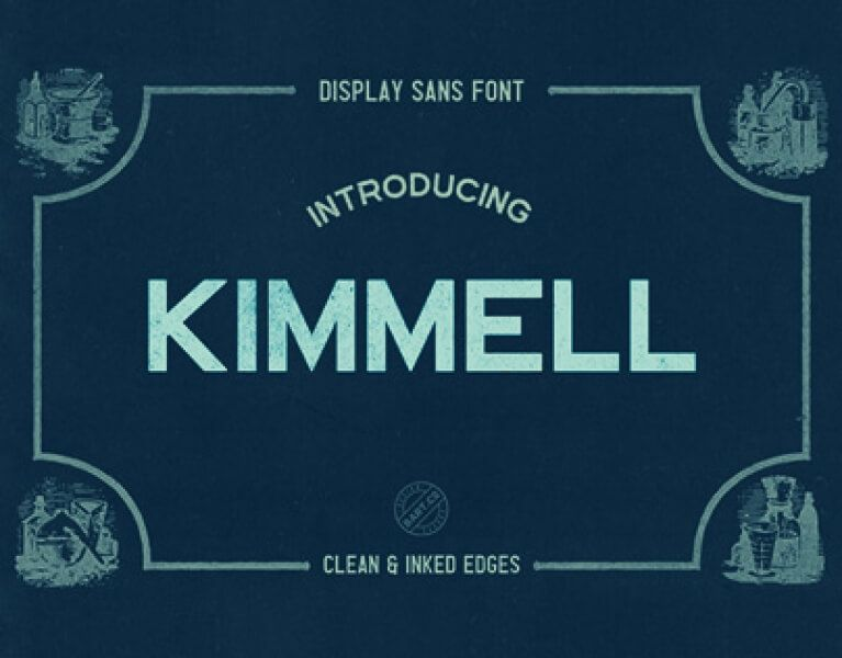 Free Font Kimmel Typeface Typeface Free Font Free Fonts Download