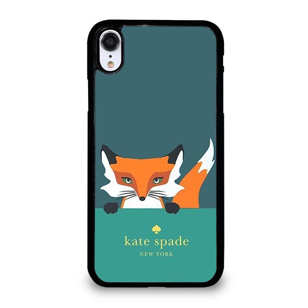 Kate spade novelty fox iphone xr case samsung galaxy s6