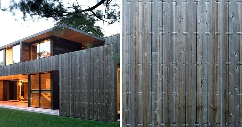 Image Result For Mid Century Modern Vertical Wood Rainscreen