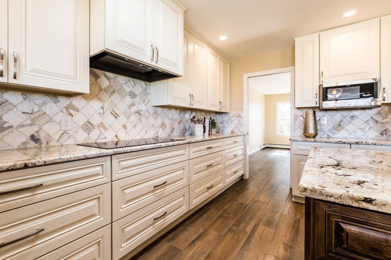 These Beautiful Cabinets In Our Remodel Were Done By Casa Bella Design Cabinetry Kitchen And Bath Design Kitchen And Bath Remodeling Kitchen Cabinets