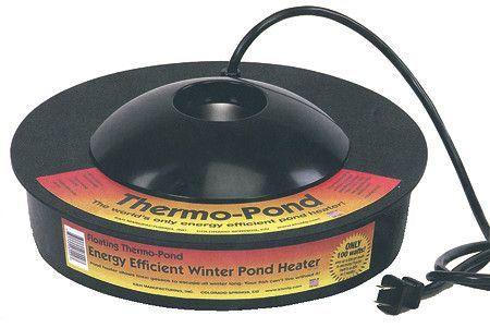 Thermo Pond 3 0 De Icer Pond Heater Pond Ponds Backyard