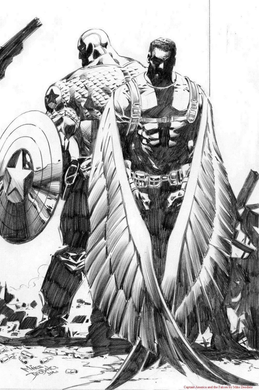 Capt A & Falcon