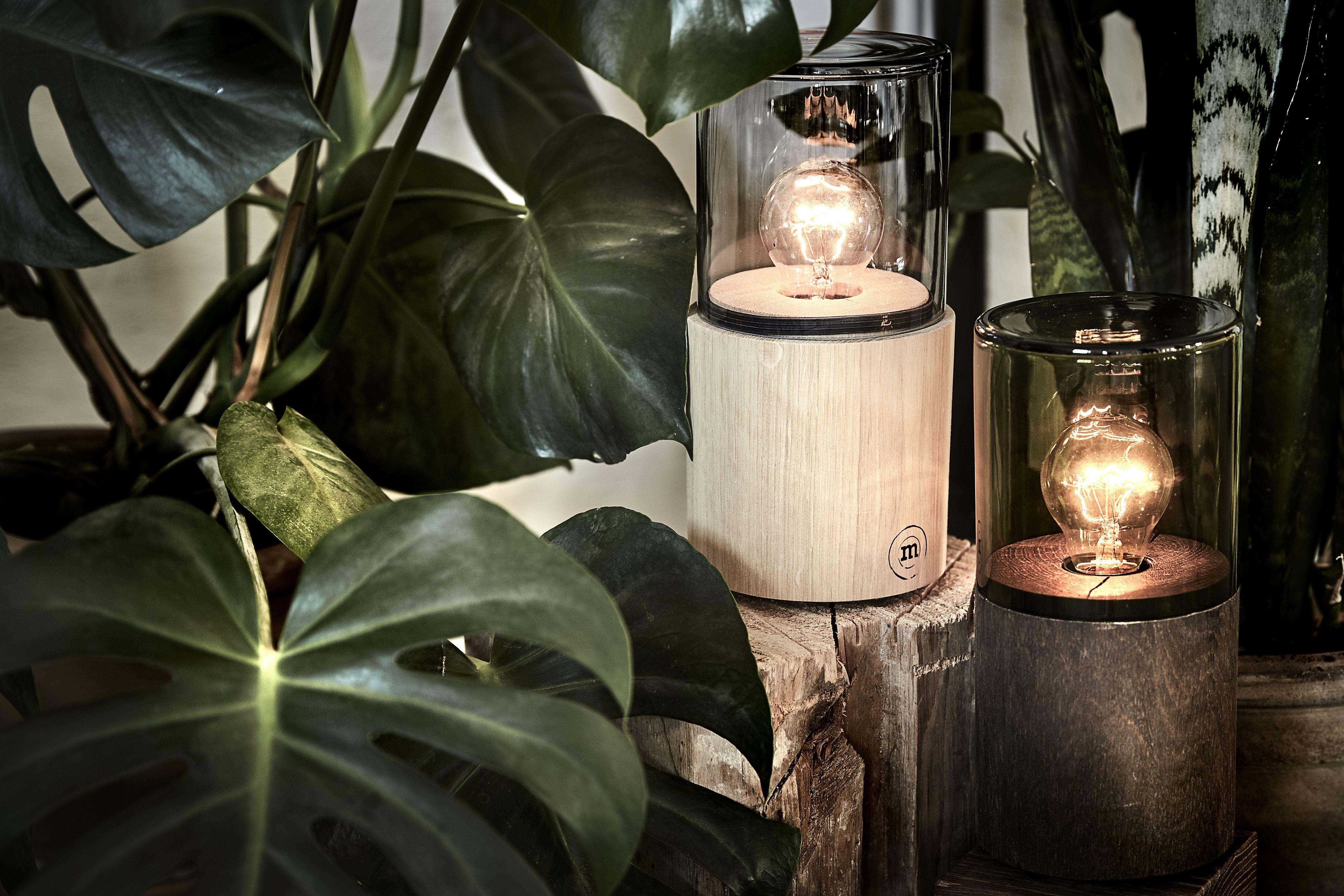 Nachttischleuchte Lantern Von The Oak Men I Nachttischleuchte
