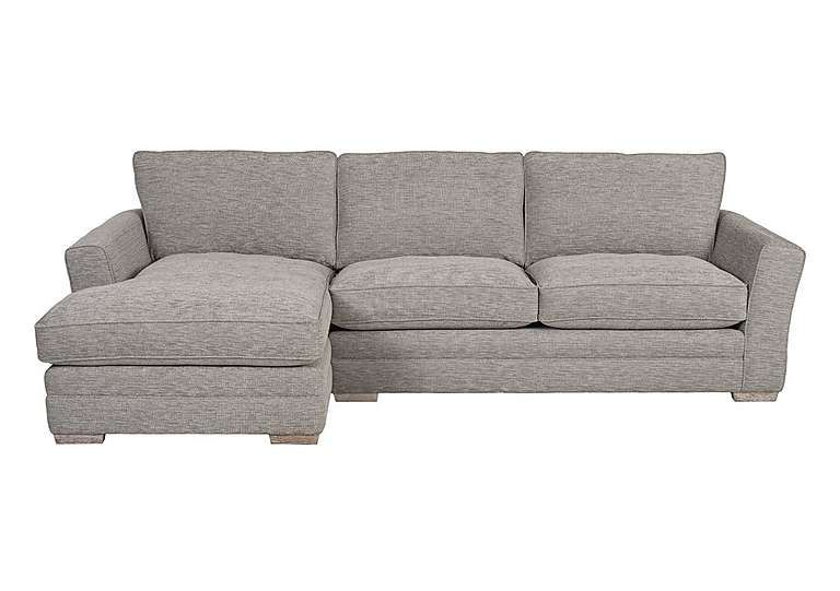 Superb Furniture Village Ashridge Large Fabric Corner Chaise Comfortable Sprung  Seats With Deep, Fibre Filled Seat