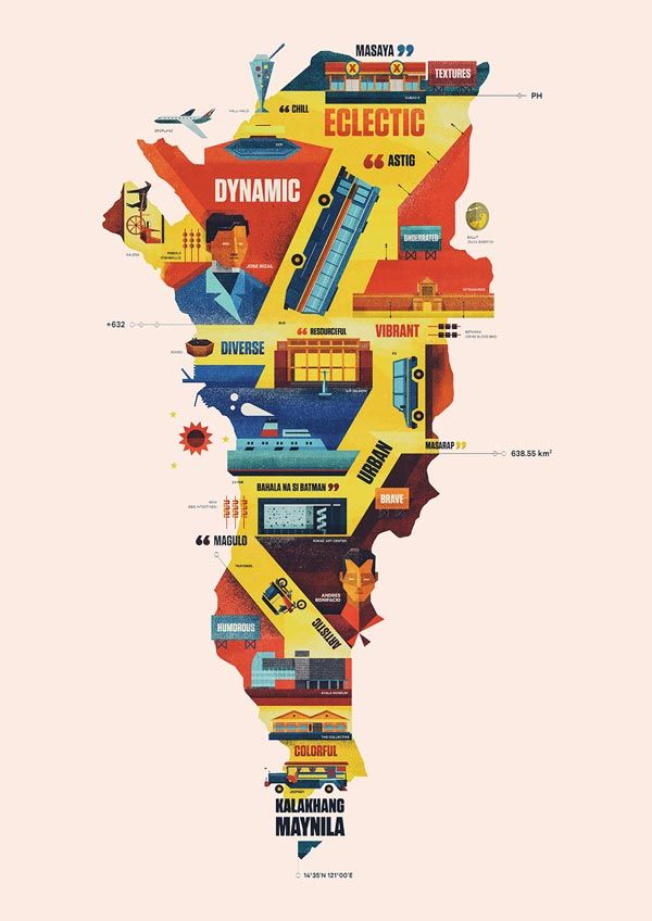 Creative cities dan matutina was asked to create metro manilas dan matutina was asked to create metro manilas visual map that shows gumiabroncs Images