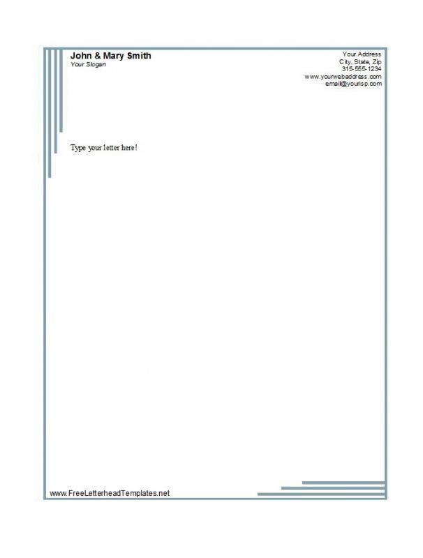 Free Business Letterhead Templates | template | Pinterest ...