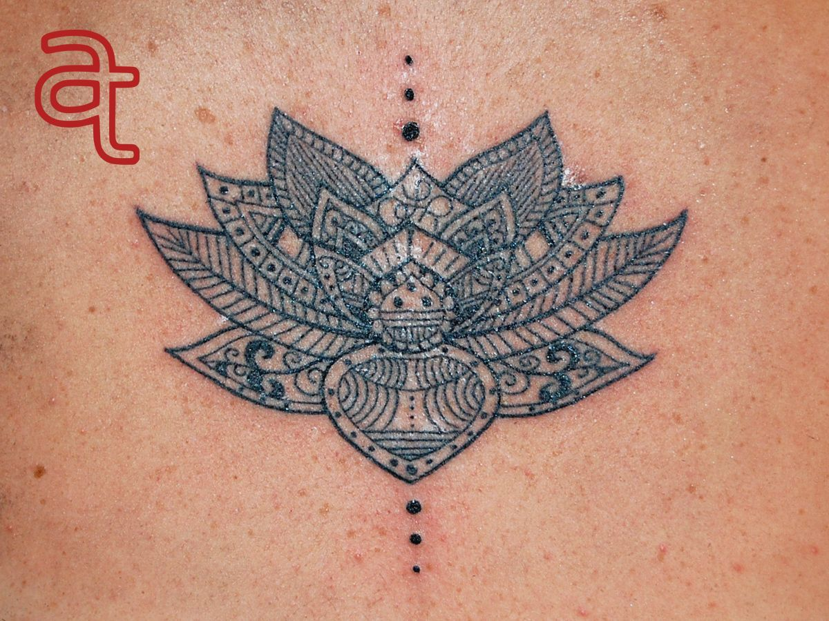 Black And White Lotus Flower Tattoo Designs Google