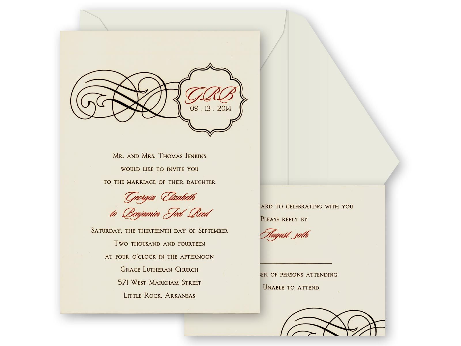 unique wedding invitation wording religious - Google Search ...