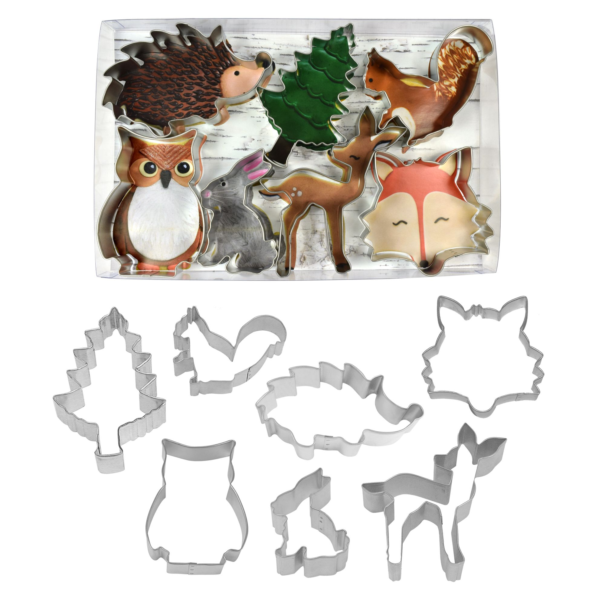 Woodland Animals 7 Pc Set R Amp M International