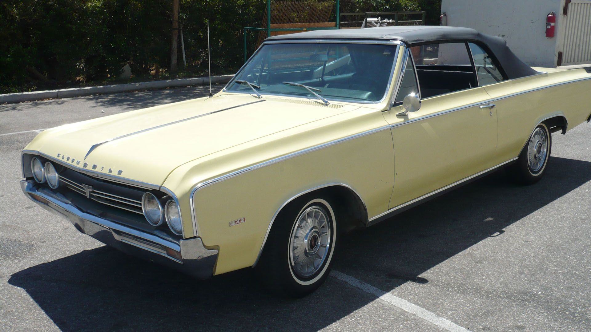 64 Olds 442 convertible | Cars I Love | Muscle cars, Antique