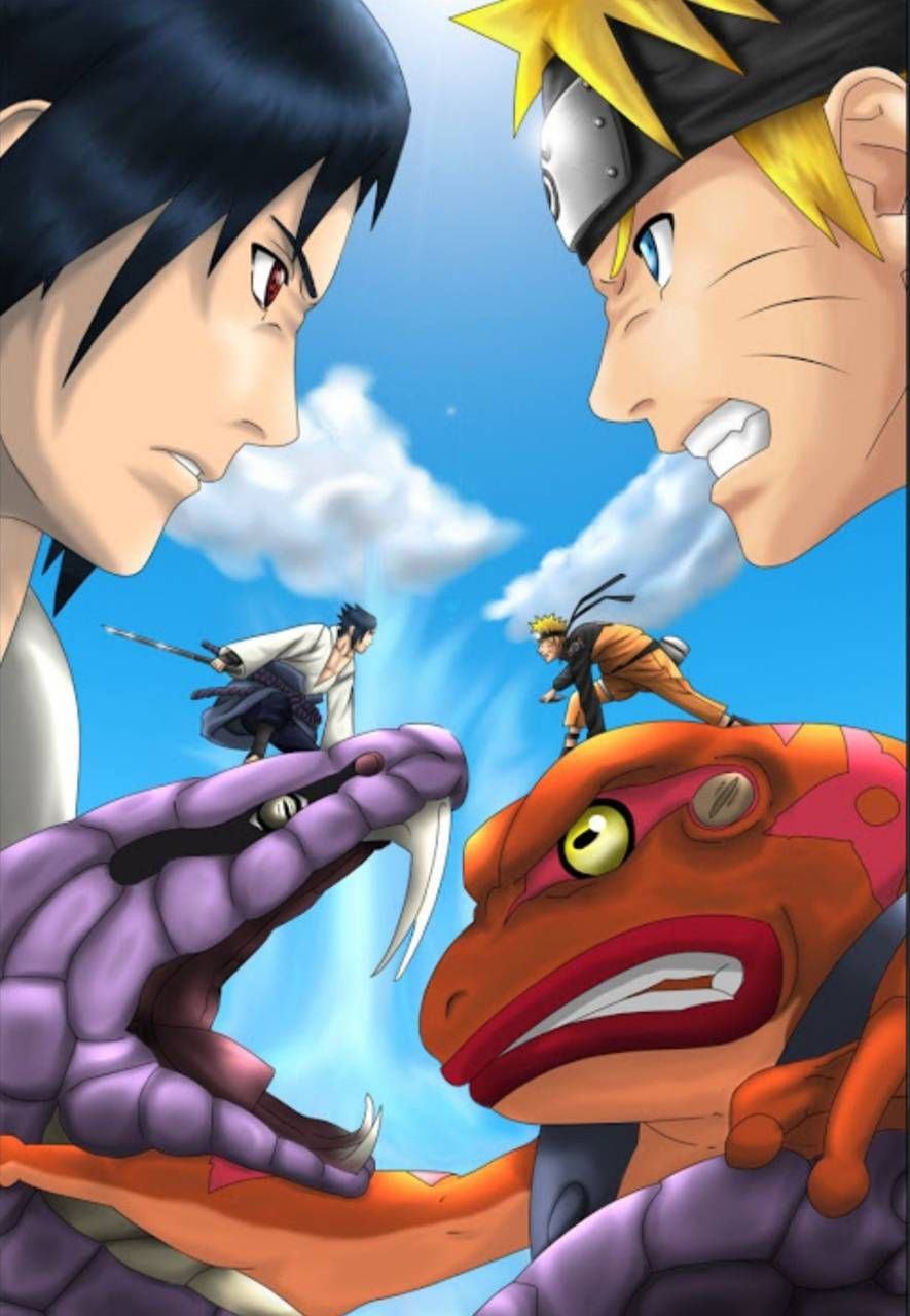 Download Naruto Vs Sauske Wallpaper By Mousecop001 04