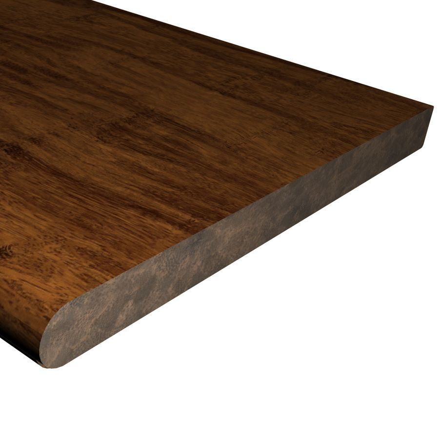 Cali Bamboo Fossilized 12 In X 48 In Java Prefinished Bamboo Stair