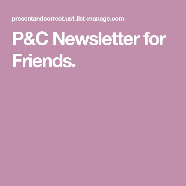 P&C Newsletter