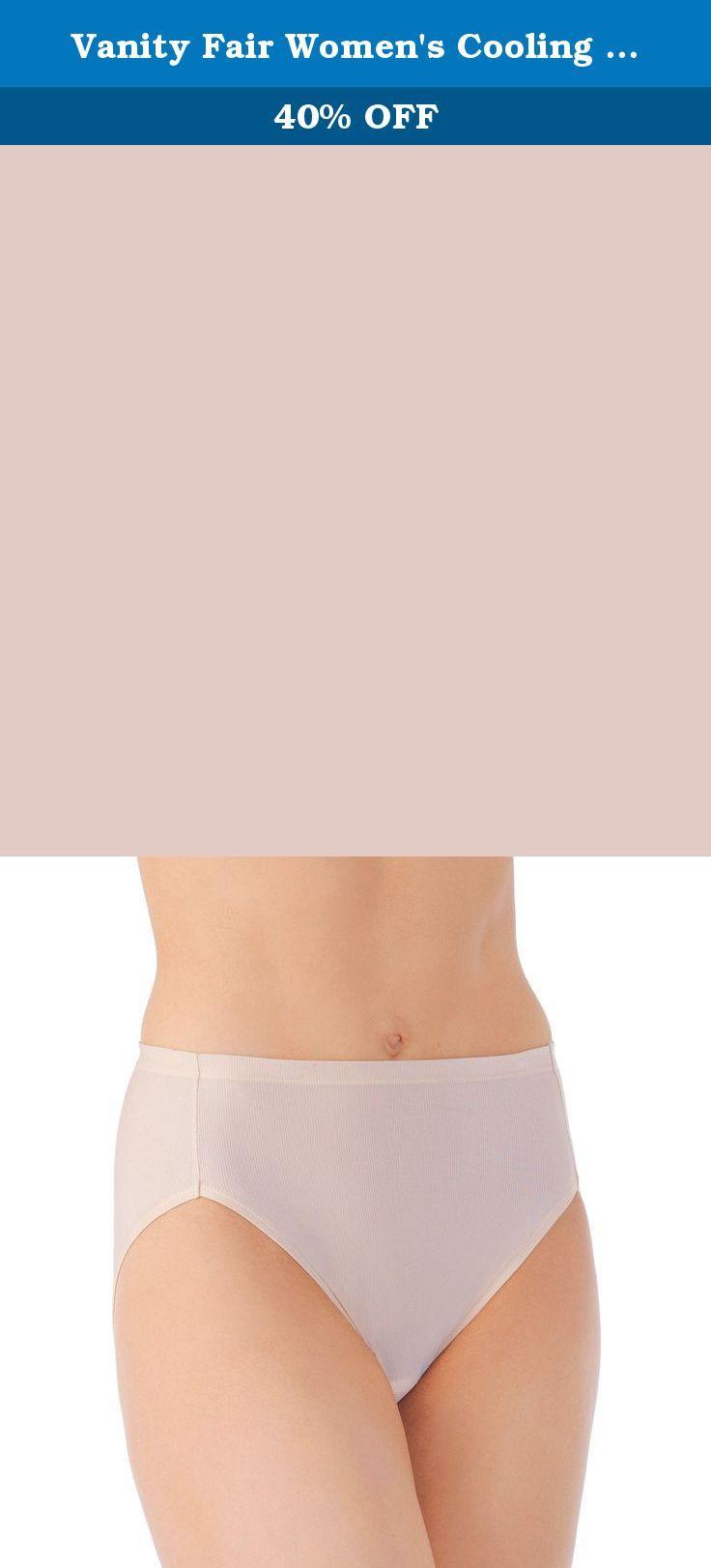 e86ab206f40 Vanity Fair Women s Cooling Touch Hi Cut Panty 13124…