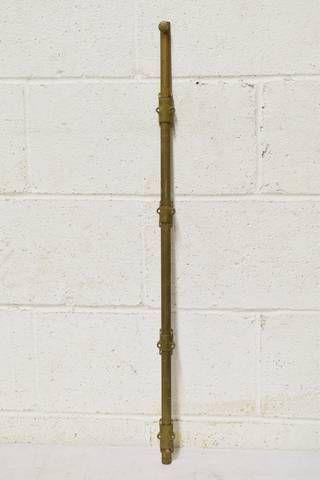 Salvaged Door Cremone Bolt Salvaged Door Cremone Bolt Antique Architectural Salvage