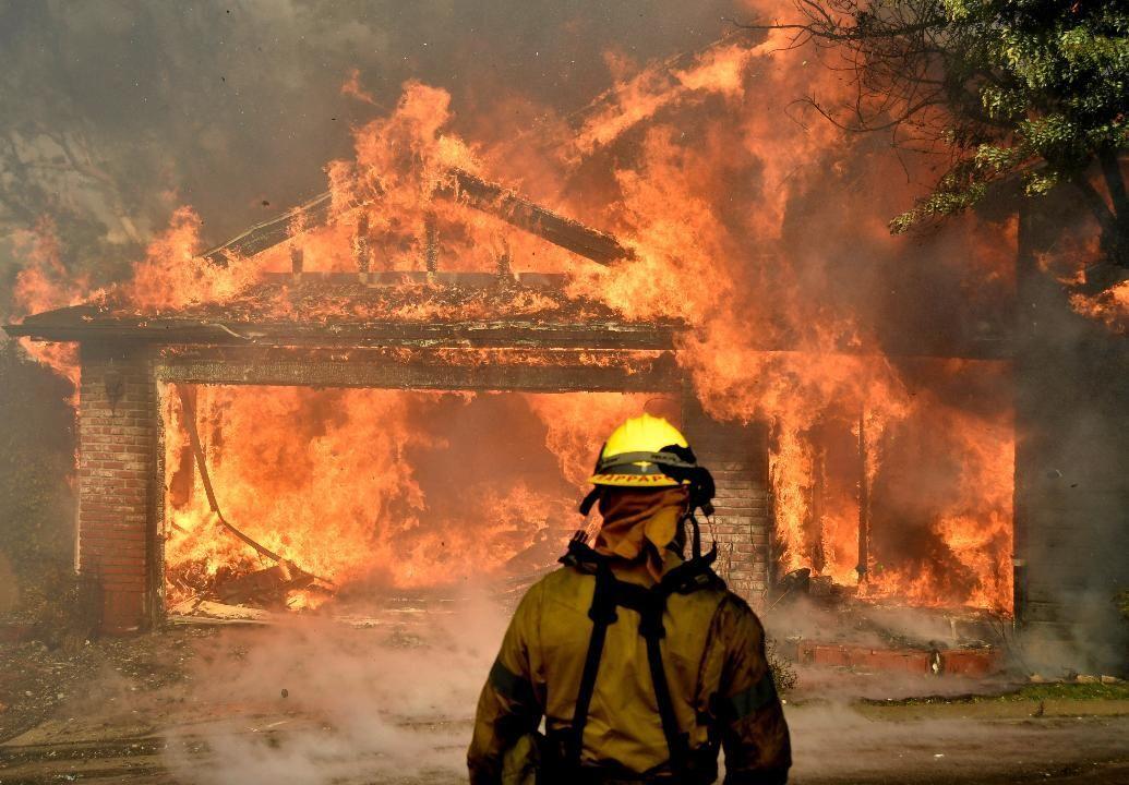 Fox News California Wildfires Continue To Rage Yangin Minneapolis Haber