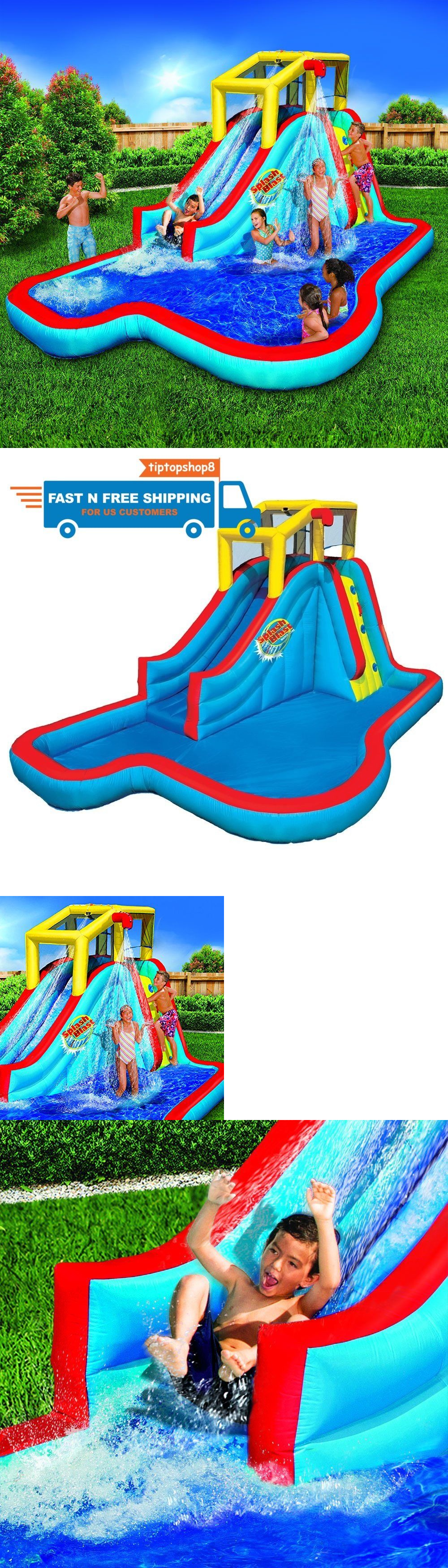 inflatable bouncers 145979 kids inflatable water slide play park