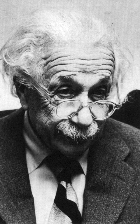 Albert Einstein. Yeah. I'd say great glasses, great mind.