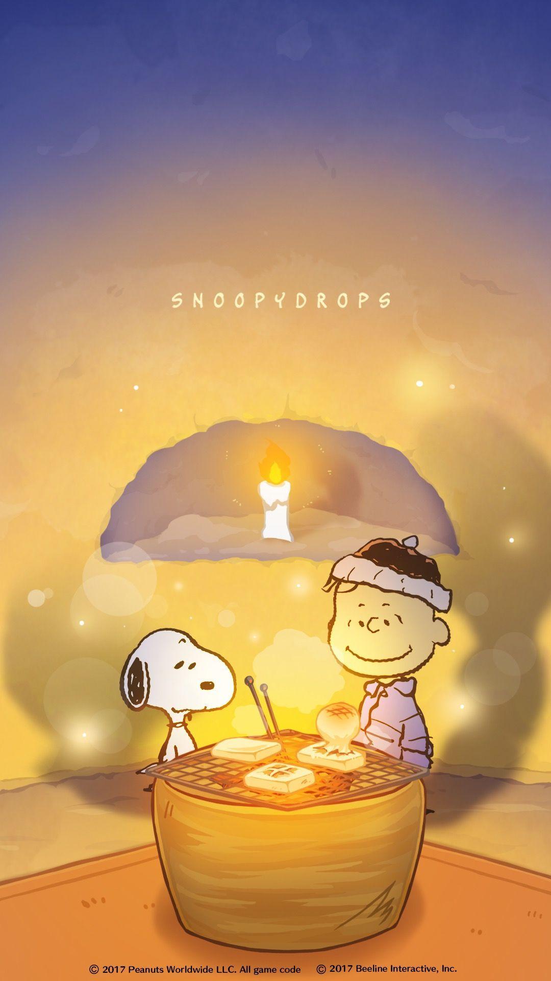 Snoopy スヌーピー 壁紙(かまくら) Papel de parede do snoopy, Arte da