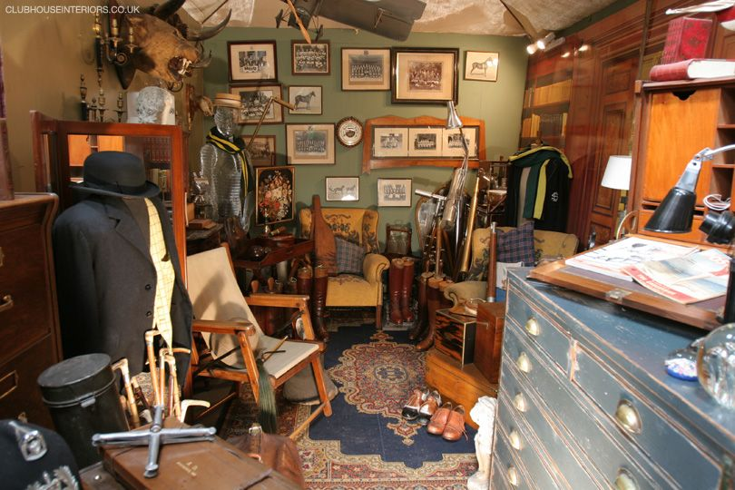 Clubhouse Interiors, Shop Display Props, Antique Furniture ...