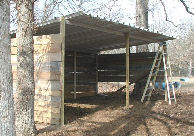 Freestand Awning Horse Stuff Pinterest Loafing Shed