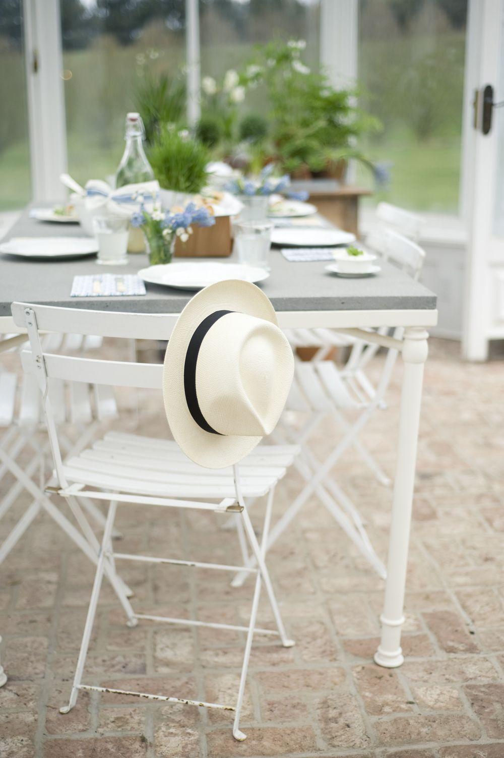 A greenhouse wedding