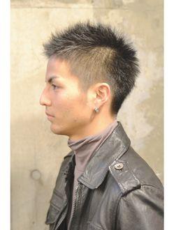 40 代 髪型 メンズ ソフト モヒカン