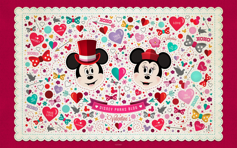 disney valentine wallpaper - 1280×720