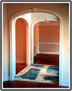 Elliptical arch molding kit Dinning Room Pinterest