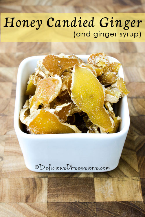 How To Make Honey Candied Ginger Ginger Candy Recipe Honey Candy Candied Ginger