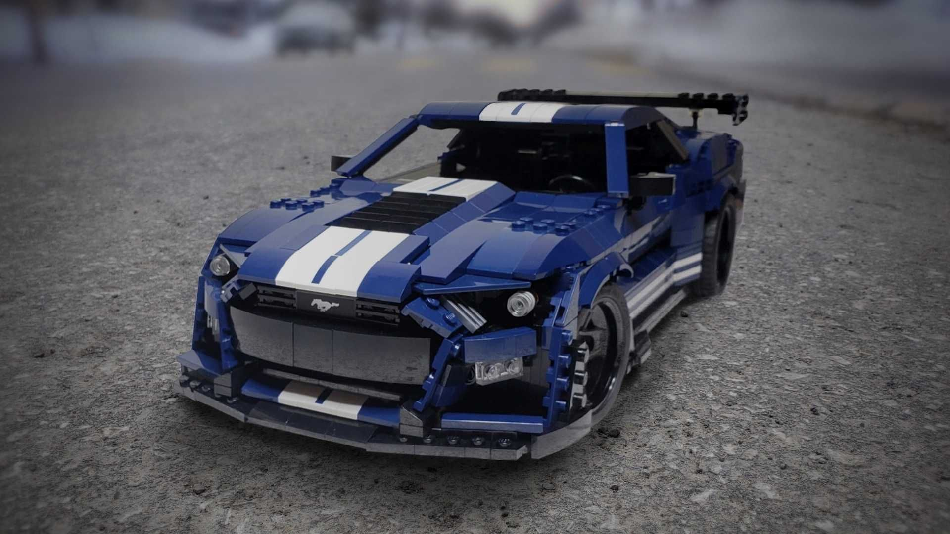 Lego Fan Builds Awesome 2020 Shelby Gt500 Ford Mustang Shelby